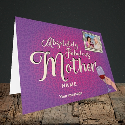 Picture of Absolutely Fabulous, Mother's Day Design, Landscape Greetings Card