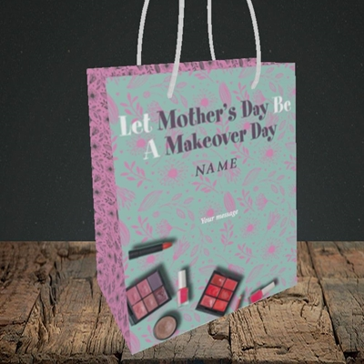 Picture of Makeover Day(No Photo), Mother's Day Design, Small Portrait Gift Bag