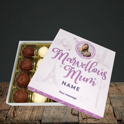 Picture of Marvellous Mum, Mother's Day Design, Choc 16