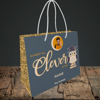 Picture of Clever as Me, Graduation Design, Small Landscape Gift Bag