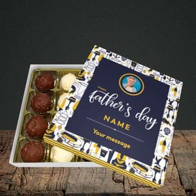 Picture of Seaside, Father's Day Design, Choc 16