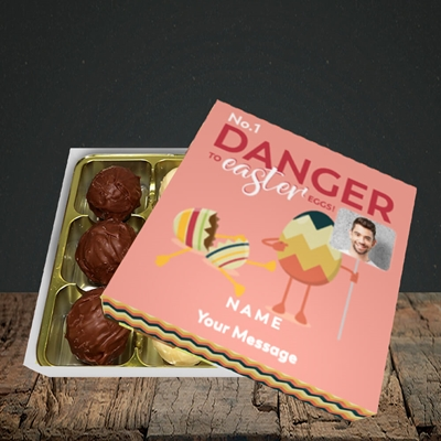 Picture of No.1 Danger, Easter Design, Choc 9