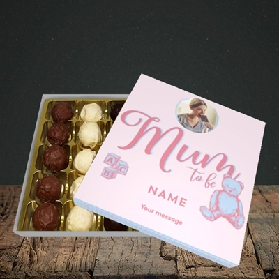 Picture of Mum To Be, Pregnancy Design, Choc 25