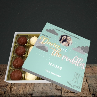 Picture of Puddles, Thinking Of You Design, Choc 16