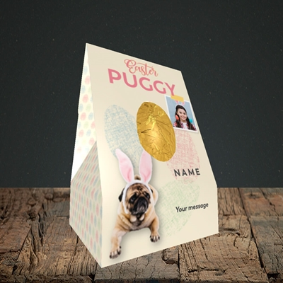 Picture of Easter Puggy, Easter Design, Small Egg
