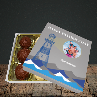 Picture of Lighthouse, Father's Day Design, Choc 9