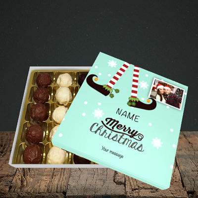 Picture of Elf, Christmas Design, Choc 25