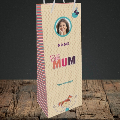 Picture of Best Mum, Bottle Bag