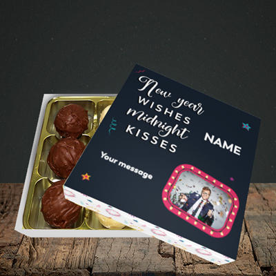 Picture of Midnight Kisses, New Year Design, Choc 9