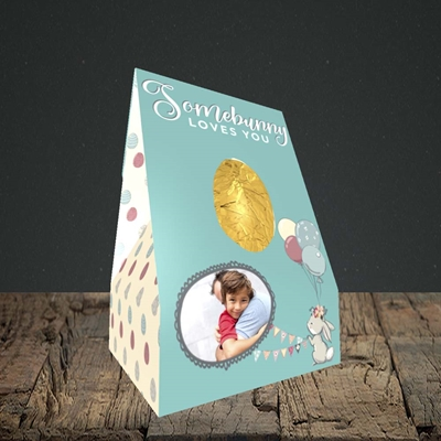 Picture of Somebunny Loves You, Easter Design, Small Egg