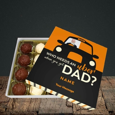 Picture of Uber Dad, Father's Day Design, Choc 16