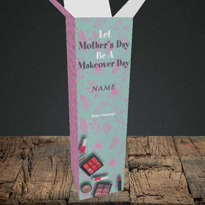 Picture of Makeover Day(No Photo), Mother's Day Design, Upright Bottle Box
