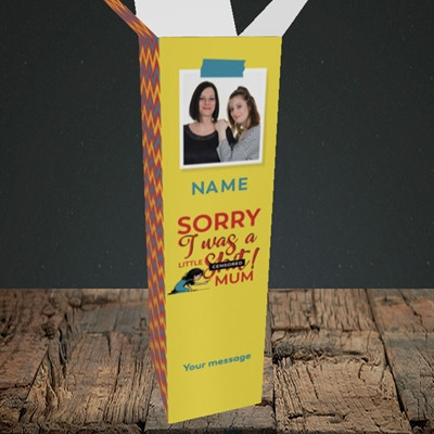 Picture of Little Sh*t, Mother's Day Design, Upright Bottle Box