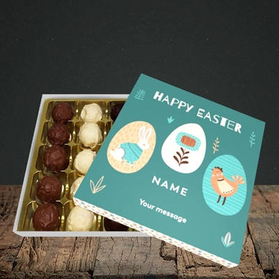 Picture of Easter Egg Farm(Without Photo), Easter Design, Choc 25