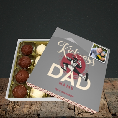 Picture of Kick-Ass Dad, Father's Day Design, Choc 16