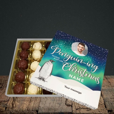 Picture of It's Penguin-ing, Christmas Design, Choc 25