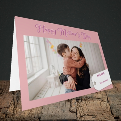 Picture of 1. Large Photo, Mother's Day Design, Landscape Greetings Card