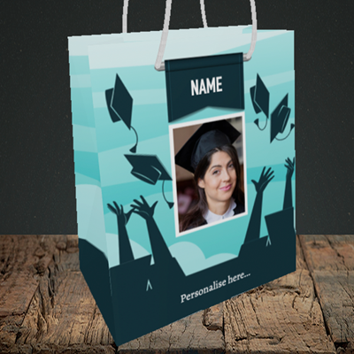 Picture of Hats, Graduation Design, Medium Portrait Gift Bag