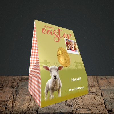 Picture of Lamb To See You, Easter Design, Small Egg