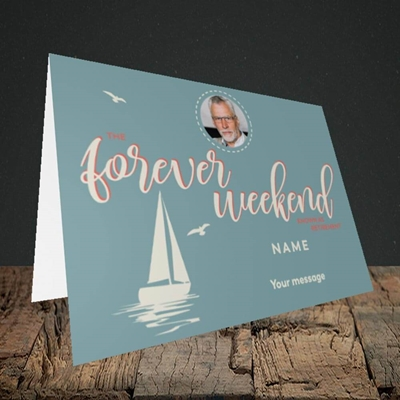 Picture of Forever Weekend, Retirement Design, Landscape Greetings Card