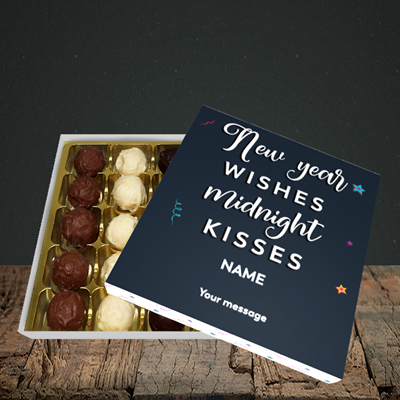 Picture of Midnight Kisses(Without Photo), New Year Design, Choc 25
