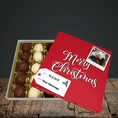 Picture of 2. A Merry Christmas Polaroid, Christmas Design, Choc 25