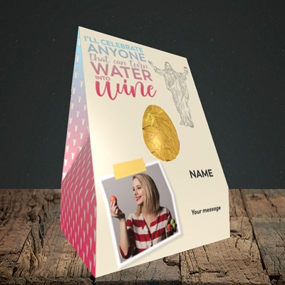 Picture of Water To Wine, Easter Design, Truffle Easter Egg