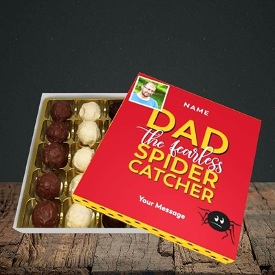 Picture of Spider Catcher, Father's Day Design, Choc 25