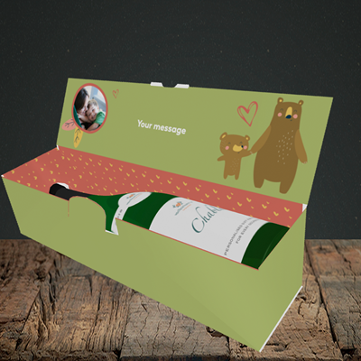 Picture of Favourite Child, Mother's Day Design, Lay-down Bottle Box