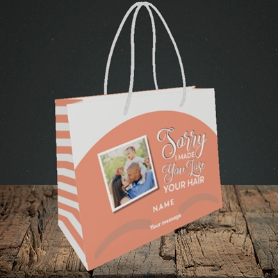 Picture of Made You Lose Hair, Father's Day Design, Small Landscape Gift Bag