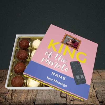 Picture of King Of The Remote, Father's Day Design, Choc 16