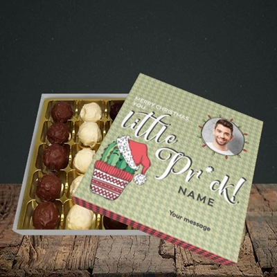 Picture of Christmas Pr*ck, Christmas Design, Choc 25
