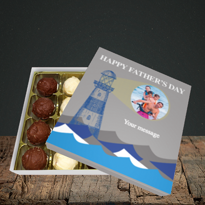 Picture of Lighthouse, Father's Day Design, Choc 16