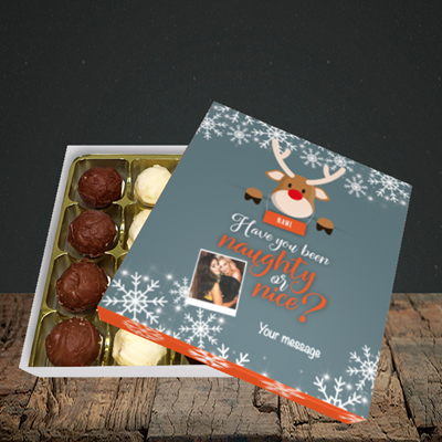 Picture of Naughty, Christmas Design, Choc 16