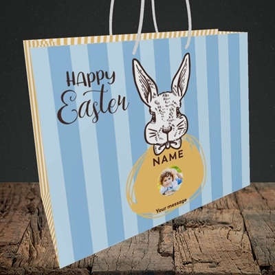 Picture of Bunny Of The Fells, Easter Design, Medium Landscape Gift Bag