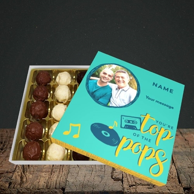Picture of Top Of The Pops, Father's Day Design, Choc 25