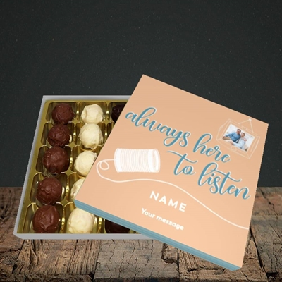 Picture of Always Here, Thinking Of You Design, Choc 25