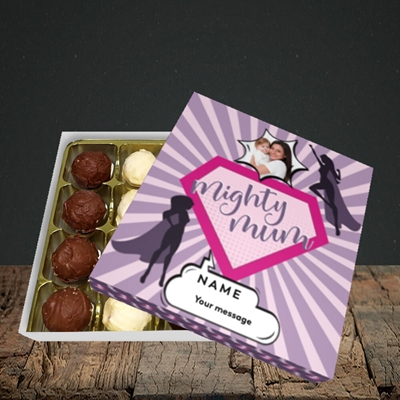 Picture of Mighty Mum, Mother's Day Design, Choc 16