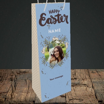 Picture of Running Bunnies, Easter Design, Bottle Bag