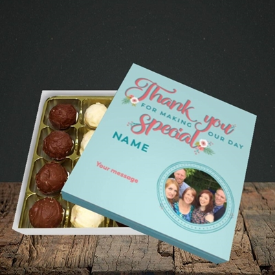Picture of Thank You, Wedding Design, Choc 16