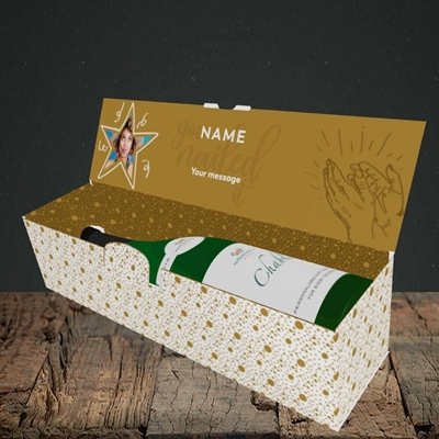 Picture of Nailed It, Graduation Design, Lay-down Bottle Box