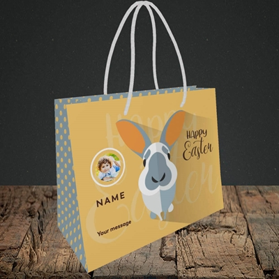Picture of Pick Me Up Bunny, Easter Design, Small Landscape Gift Bag