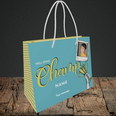 Picture of Champ, Celebration Design, Small Landscape Gift Bag