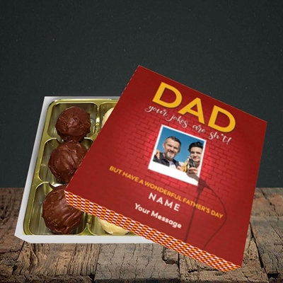 Picture of Dad Jokes, Father's Day Design, Choc 9