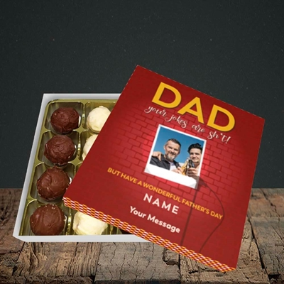 Picture of Dad Jokes, Father's Day Design, Choc 16