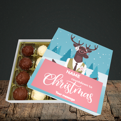 Picture of Countdown(Without Photo), Christmas Design, Choc 16