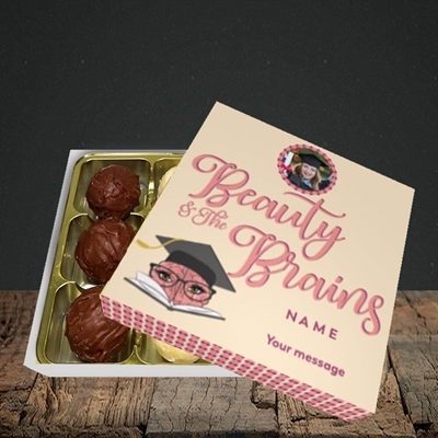 Picture of Beauty & The Brain, Graduation Design, Choc 9